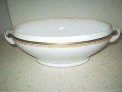 VICTORIA AUSTRIA porcelán leveses kínáló ovális tál hibátlan