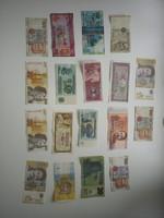 Vegyes Külföldi papírpénzek 18 db