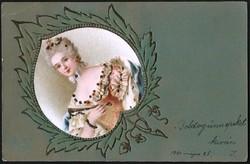 Hölgy lap  1901-ből