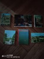 Hat darab leporelló az 1970-80-as évekből