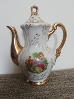 Barokk jelenetes porcelán  kiöntő