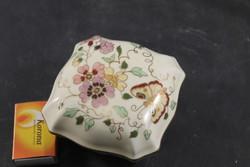 Zsolnay pillangós bonbonier 942