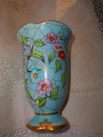 Bereznay Vilma jeggyel Kézzel festett  porcelán   váza