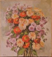 Mirdza Zeberga (1924-2003): Virágcsendélet