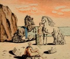 Salvador Dali  rézkarca! Leárazáskor nincs felező ajánlat