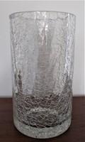 Jégüveg / kraklé/ kis váza