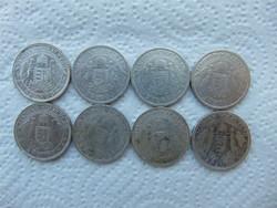 Horthy ezüst 2 pengő 8 darab LOT !