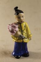 Herendi kínai virágos kislány 947