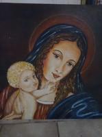 Mária és a kisgyermek