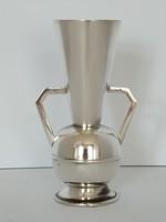 Ezüst art-deco váza