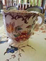 Sarreguemines fleury kávés csésze