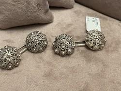 Ezüst  Mandzsetta jelzett gyönyörű ékszer