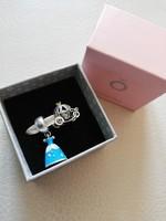 Ezüst Pandora charmok, Hamupipőke ruhája és hintója