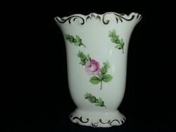 Antik bécsi rózsás Herendi váza