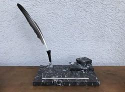 Art deco márvány tolltartó kalamáris P238
