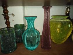 Karcagi  fátyol üvegek egyben eladók