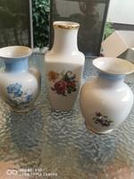 2db Hollóházi váza