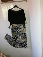 Szebbnél szebbek molett nálam nagyon elegáns mutatós könnyű lenge nyári ruha 115-125 mell 48 50 52
