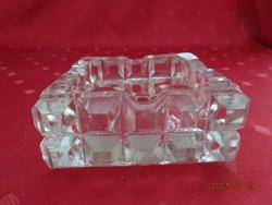 Üveg hamutál. Mérete 9,5 x 9,5 x 4 cm. Vannneki!