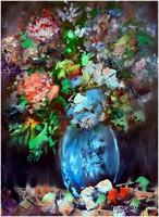 Virágcsendélet, saját alkotás.