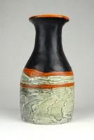 1C080 Régi hibátlan Gorka Lívia kerámia váza 14 cm