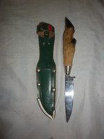 Pata markolatos dísz kés tokjával