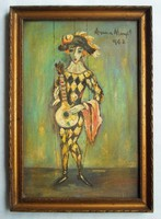 Anna Margit 1962-ben alkotott Babu című festménye