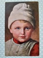 Régi képeslap 1919 Paul Wagner Friedel művészi levelezőlap