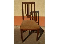 0221 Antik empire stílusú szék 1880 körüli