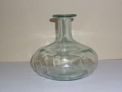 Dekor üveg, egyszálas váza