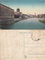 Románia Nagyvárad Körös részlet 1913 RK Magyar elcsatolt területek