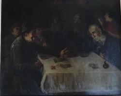 Jaksa István festmény