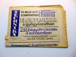 1976 március  /  TECHNIKA  /  Eredeti AJÁNDÉK!? Ssz.:  18431