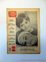 1966 10 24  /    Váradi Hédi és Balogh Zsuzsa  /  RÁDIÓ és TELEVÍZIÓ ÚJSÁG  /  Ssz.:  15131