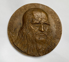 Ferenczy Béni,Leonardo Da Vinci,500 éves jubileumi érem 1952.