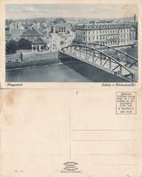 Románia Nagyvárad Látkép a Körösrészlettel  kb1930 RK MET
