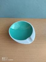 Royal dux porcelán színes tálka