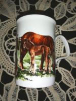 Angol lovas csésze