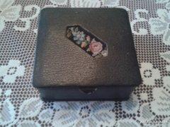 Retro bőr cigarettatartó doboz