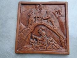 Antik csempe kerámiából