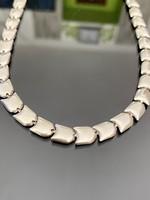 Csodás ezüst nyaklánc-nyakékék