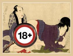 Kitagawa Utamaro - erotikus SHUNGÁK, 1799.