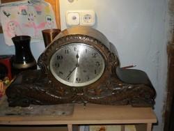 130 éves kandalló óra