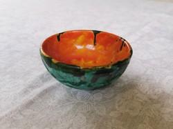 Retro handicraft bowl, platter