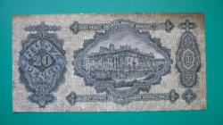 20 Pengő  bankjegy - 1930