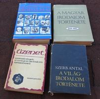 Világirodalom és magyar irodalom története / Szerb Antal , stb...