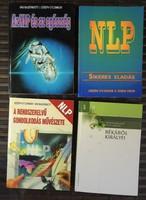 NLP  / Neuro-lingvisztikus programozás  könyvek