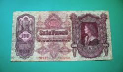 100 Pengő - csillagos bankjegy - 1930