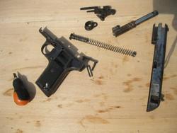 HatástalanítottTT-33 pisztoly,metszet