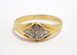 Köves arany gyűrű (ZAL-Au99023)
